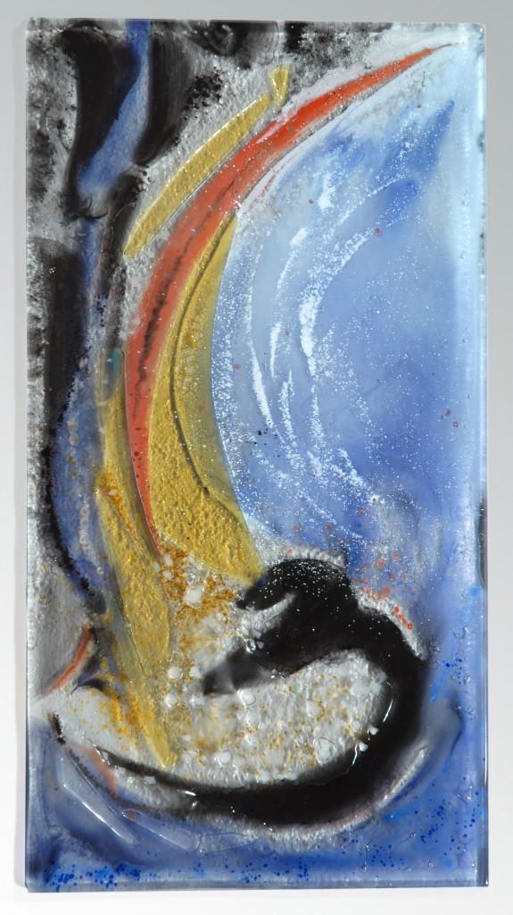 Baeckeroot-ph Nagy-caché au fond(tableau) 18 x 32cm